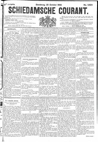 Schiedamsche Courant 1908-10-29