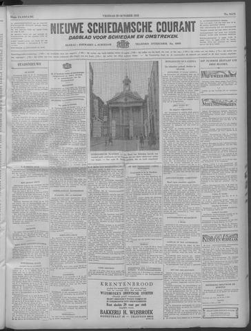 Nieuwe Schiedamsche Courant 1932-10-28
