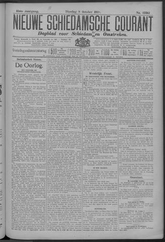 Nieuwe Schiedamsche Courant 1918-10-08