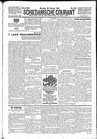 Schiedamsche Courant 1931-02-23