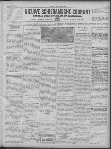 Nieuwe Schiedamsche Courant 1932-08-05