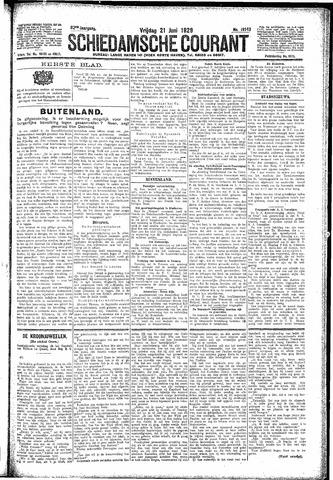Schiedamsche Courant 1929-06-21