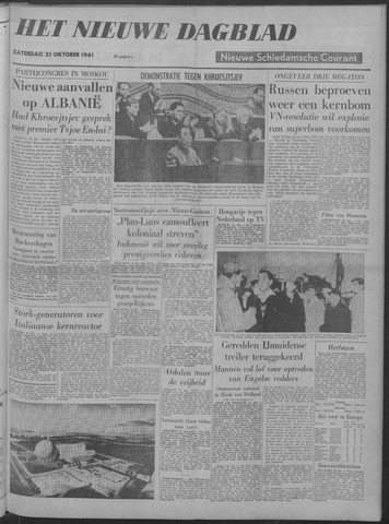 Nieuwe Schiedamsche Courant 1961-10-21