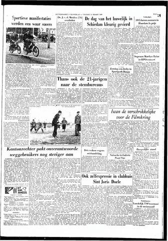 Rotterdamsch Nieuwsblad / Schiedamsche Courant / Rotterdams Dagblad / Waterweg / Algemeen Dagblad 1966-03-11