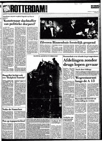 Rotterdamsch Nieuwsblad / Schiedamsche Courant / Rotterdams Dagblad / Waterweg / Algemeen Dagblad 1991-02-09