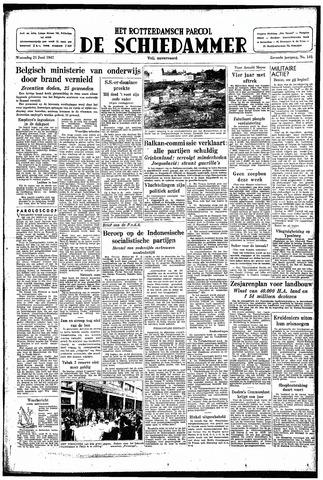 Rotterdamsch Parool / De Schiedammer 1947-06-25
