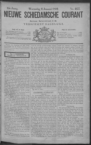 Nieuwe Schiedamsche Courant 1892-01-06