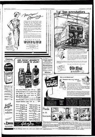 Rotterdamsch Nieuwsblad / Schiedamsche Courant / Rotterdams Dagblad / Waterweg / Algemeen Dagblad 1953-06-11