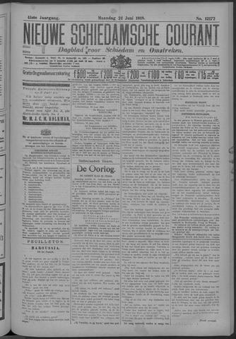 Nieuwe Schiedamsche Courant 1918-06-24