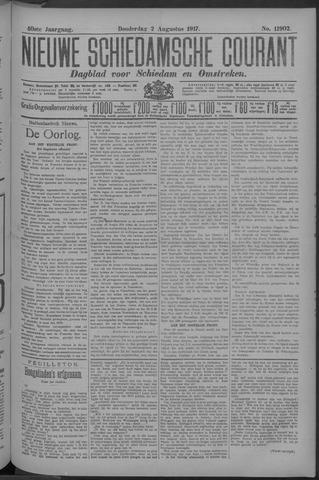 Nieuwe Schiedamsche Courant 1917-08-02