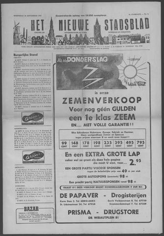 Het Nieuwe Stadsblad 1954-09-29