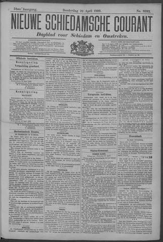 Nieuwe Schiedamsche Courant 1909-04-22