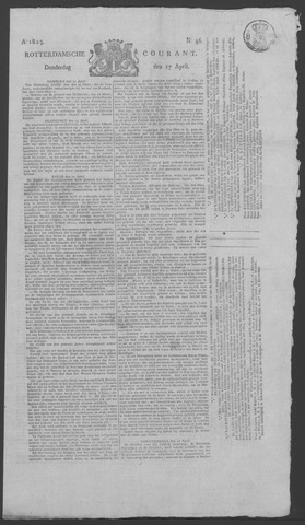 Rotterdamse Courant 1823-04-17