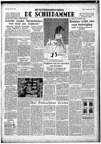 Rotterdamsch Parool / De Schiedammer 1948-05-22