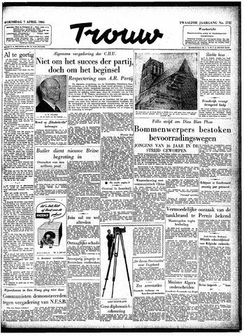 Trouw / De Rotterdammer 1954-04-07