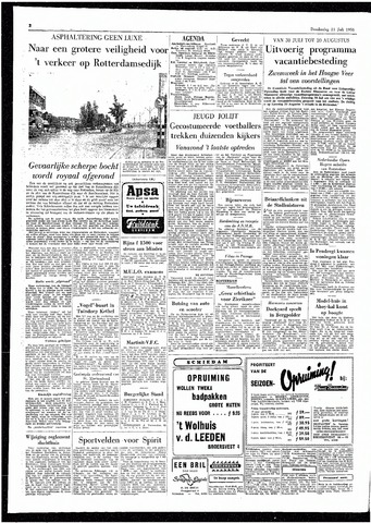 Rotterdamsch Parool / De Schiedammer 1955-07-21
