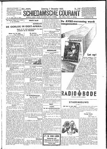 Schiedamsche Courant 1935-12-07