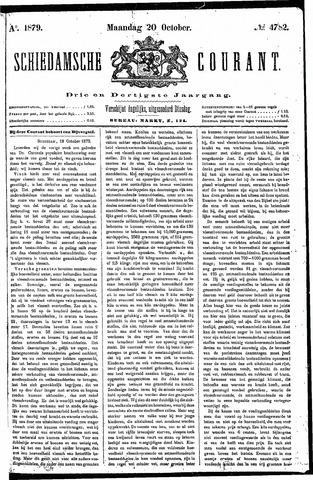 Schiedamsche Courant 1879-10-20