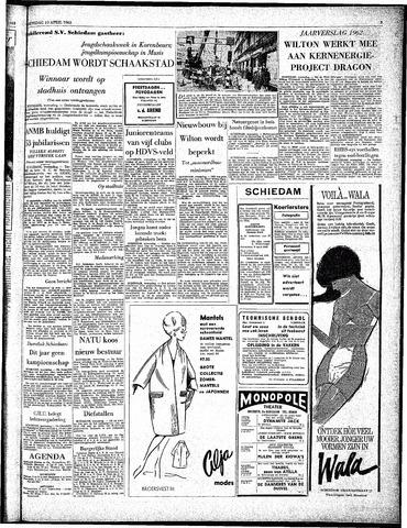 Rotterdamsch Parool / De Schiedammer 1963-04-10