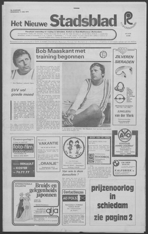 Het Nieuwe Stadsblad 1973-07-11