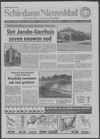Schiedams Nieuwsblad 1983-04-20