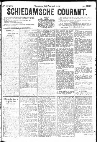 Schiedamsche Courant 1908-02-26
