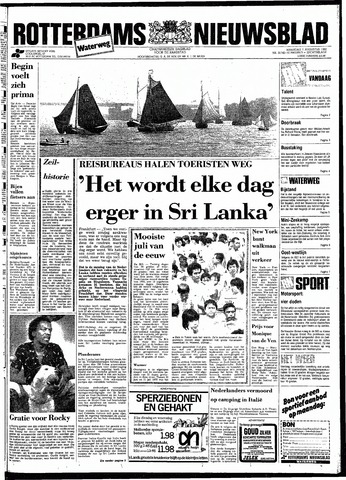 Rotterdamsch Nieuwsblad / Schiedamsche Courant / Rotterdams Dagblad / Waterweg / Algemeen Dagblad 1983-08-01