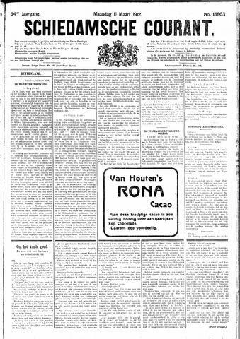 Schiedamsche Courant 1912-03-11
