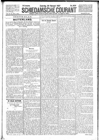 Schiedamsche Courant 1927-02-26