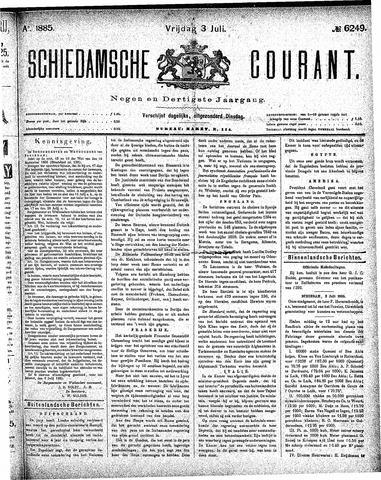 Schiedamsche Courant 1885-07-03