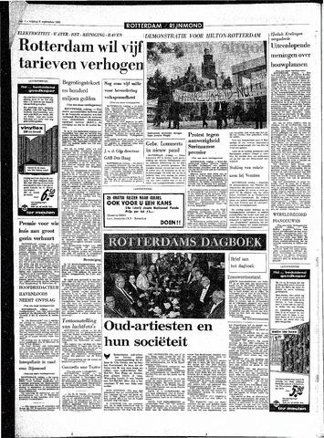 Rotterdamsch Parool / De Schiedammer 1968-09-06