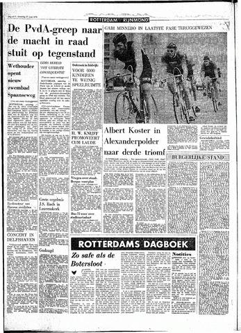 Rotterdamsch Parool / De Schiedammer 1970-06-27