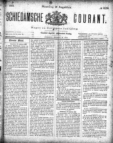 Schiedamsche Courant 1885-08-31
