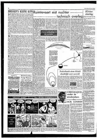 Rotterdamsch Parool / De Schiedammer 1957-04-24