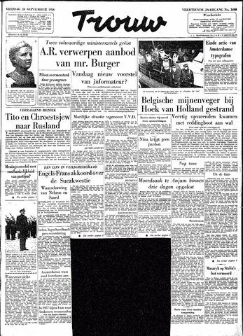 Trouw / De Rotterdammer 1956-09-28