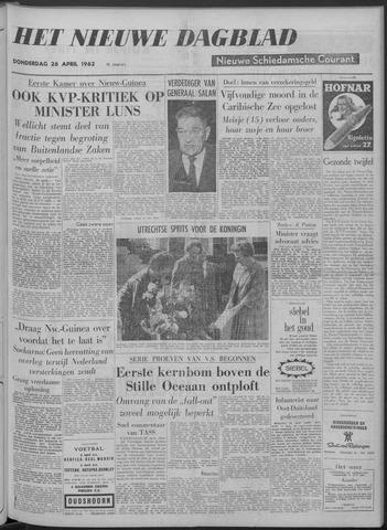 Nieuwe Schiedamsche Courant 1962-04-26