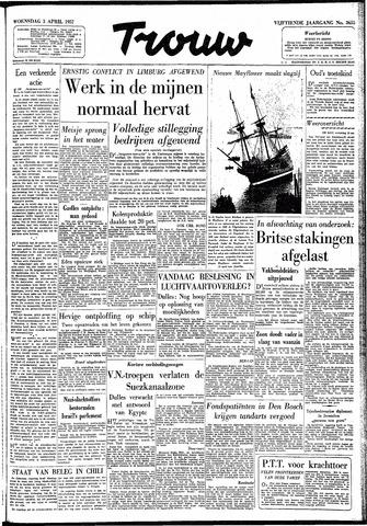 Trouw / De Rotterdammer 1957-04-03