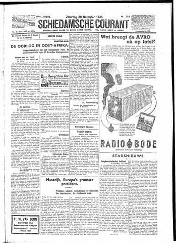 Schiedamsche Courant 1935-11-30