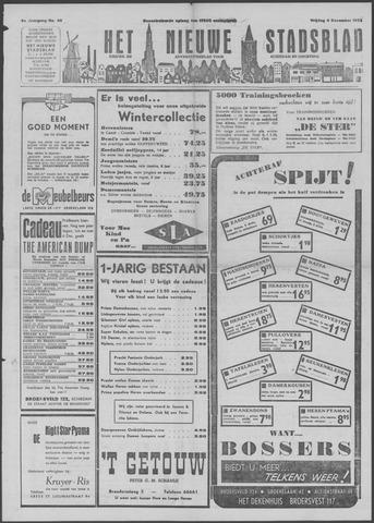 Het Nieuwe Stadsblad 1952-12-04
