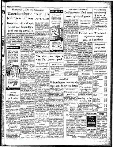 Rotterdamsch Parool / De Schiedammer 1963-01-15
