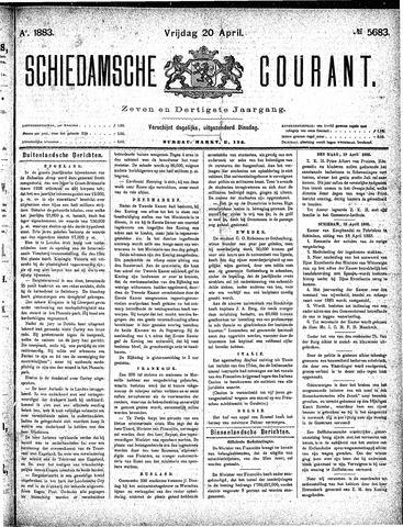 Schiedamsche Courant 1883-04-20