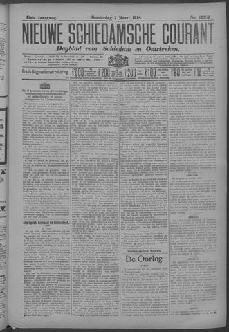 Nieuwe Schiedamsche Courant 1918-03-07