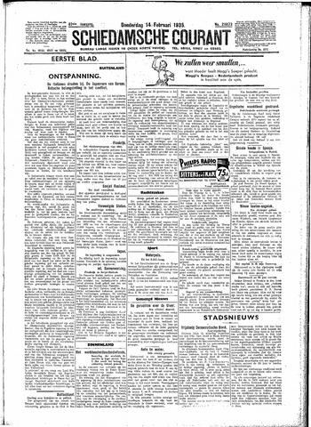 Schiedamsche Courant 1935-02-14