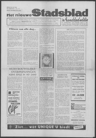 Het Nieuwe Stadsblad 1963-07-26