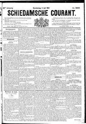 Schiedamsche Courant 1912-07-11