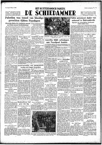 Rotterdamsch Parool / De Schiedammer 1948-03-30