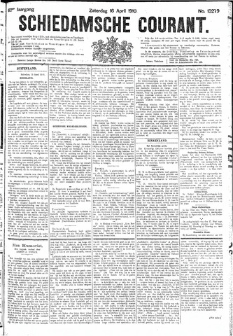 Schiedamsche Courant 1910-04-16