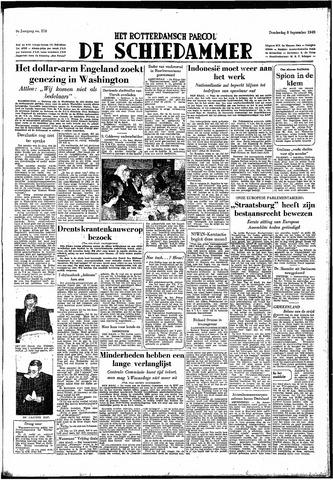 Rotterdamsch Parool / De Schiedammer 1949-09-08