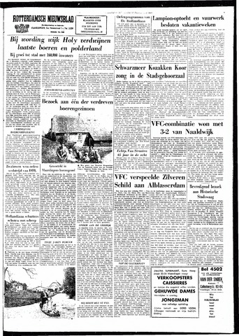 Rotterdamsch Nieuwsblad / Schiedamsche Courant / Rotterdams Dagblad / Waterweg / Algemeen Dagblad 1964-08-17