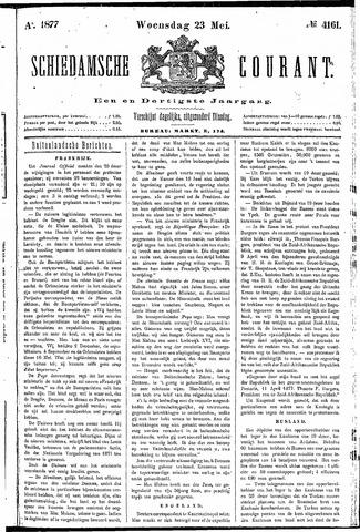 Schiedamsche Courant 1877-05-23